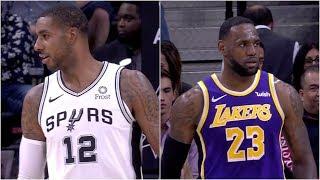 Los Angeles Lakers vs San Antonio Spurs - 1st Half Highlights | November 3, 2019-20 NBA Season