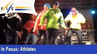 Gangnam Style a la Nordic Combined! =)