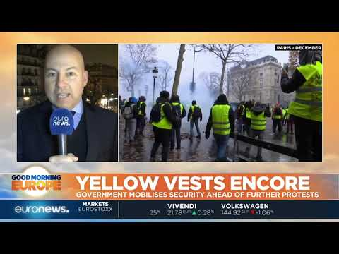 Yellow Vests: French government mobilises security ahead of protests