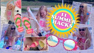 11 DIY SUMMER LIFE HACKS !🌴für Kids ☀️ MaVie Noelle