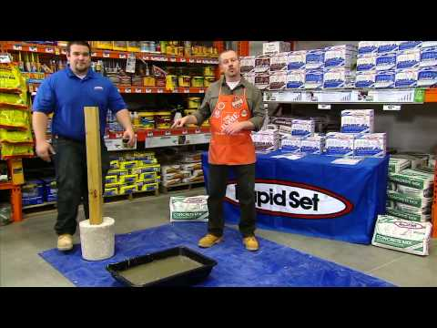 CTS Rapid Set for Pros - The Home Depot