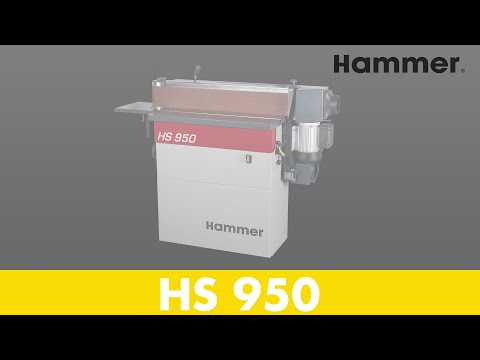Hammer® HS 950 Kantenschleifmaschine