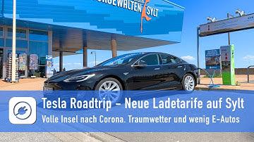 Tesla Sylt-Roadtrip - Lade-Preisunterschiede auf Deutschlands schönster Insel