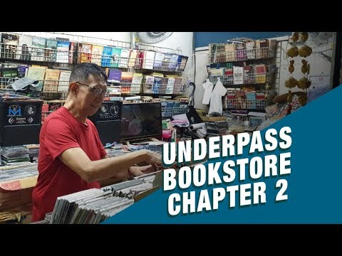 Stand for Truth: Pinatalsik na 'underground' bookstore sa Manila underpass, may second chance!