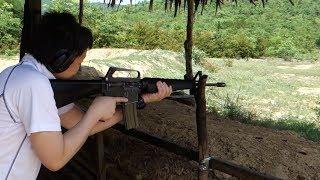 実弾射撃 コルト M16A1 自動小銃 (Colt M16A1 Assault Rifle)
