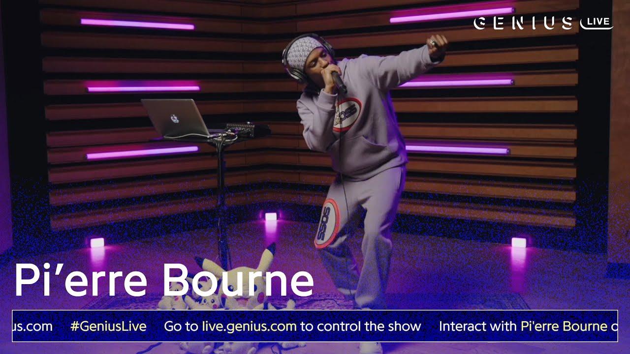 "Pi'erre Bourne ""4U"" (Live Performance)   Genius Live"