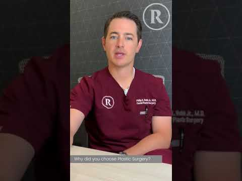 Dr. Robb's Path to Plastics: Why he chose Plastic Surgery 💉