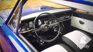 Ford Corcel 1 1975 luxo azul
