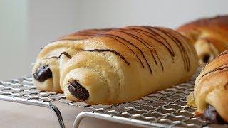 Schokobrötchen Selber Machen (Rezept) || Homemade Chocolate Rolls (Recipe) || [ENG SUBS]
