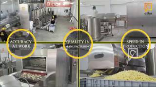 Corn chips Full Automatic production line -  Project  EXWV3 New