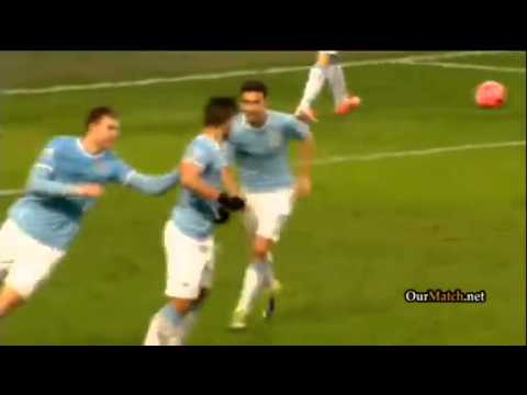 Manchester City vs Watford 4-2 Highlights Video Clips FA Cup 2014