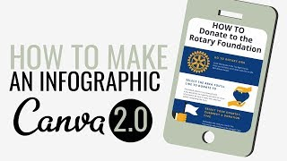 How to Make an Infographic in Canva 2.0 | Canva Tutorial