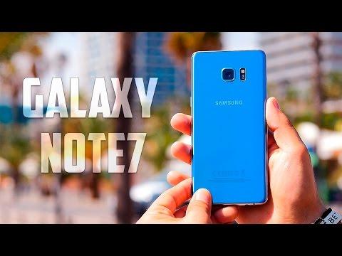 Samsung Galaxy Note 7, Review en español