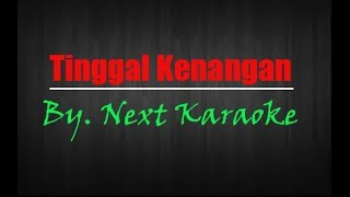 Gambar cover Tinggal Kenangan Karaoke No Vocal + Lirik