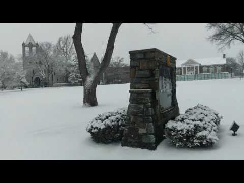 Ursinus College Snow Day 2017
