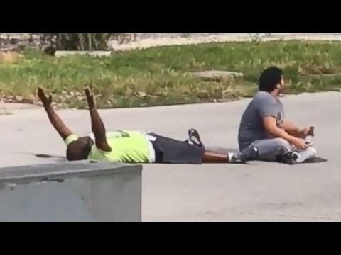 police-shoot-unarmed-black-man-with-hands-up-[caught-on-tape]