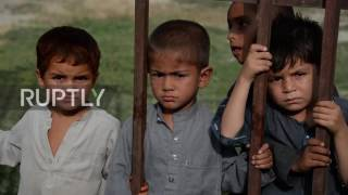 Afghanistan  'War is bad' Orphans of fathers killed serving in security forces find refuge