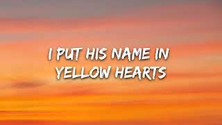 Ant Saunders,Audrey Mika - Yellow Hearts (Lyrics)