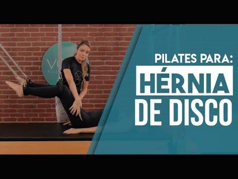 Exercício de Pilates para Hérnia Discal