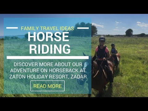 LifeinourVan Go HorseRiding at Zaton Holiday Resort