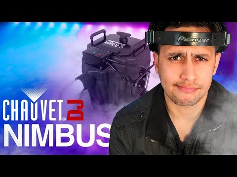 DJ Gear Review: Chuavet DJ Nimbus | Dry Ice Low Fog Machine | Dancing on a Cloud