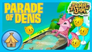 Snazzy Beach and Underwater Dens! | Animal Jam - Parade of Dens
