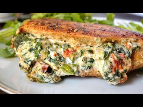 How To Make Stuffed Tuscan Chicken