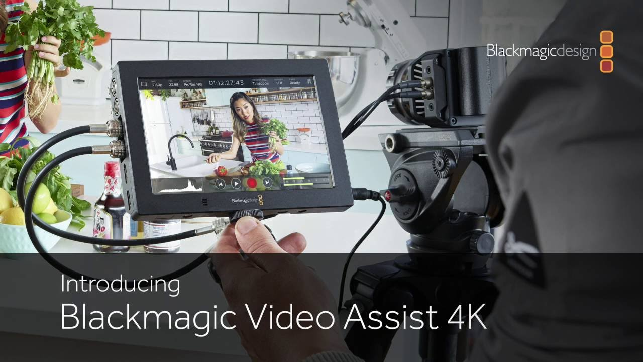 Buy Blackmagic Video Assist 4k On Camera 7 Inch Touchscreen Monitor Recorder