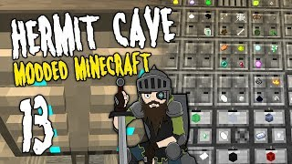 Hermit Cave: 13 | The DIGITAL Age | Modded Minecraft