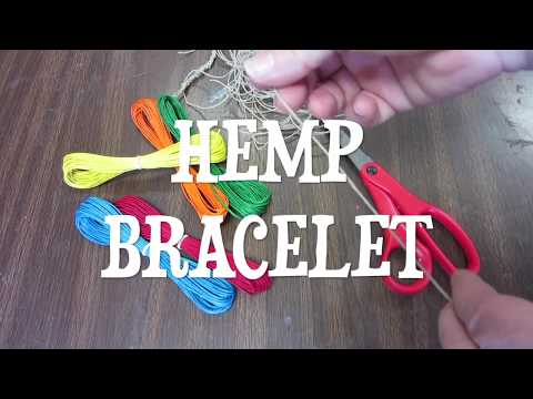 How To Make A Hemp Bracelet