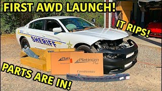 Download Rebuilding A Wrecked 2018 Dodge Charger Police Car Part 2 Mp3 and Videos