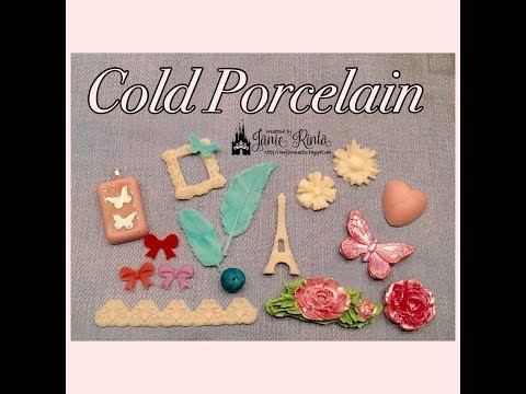 Cold Porcelain - Easy To Make & Create With - Craft Embellishments, Jewelry, and More!!!