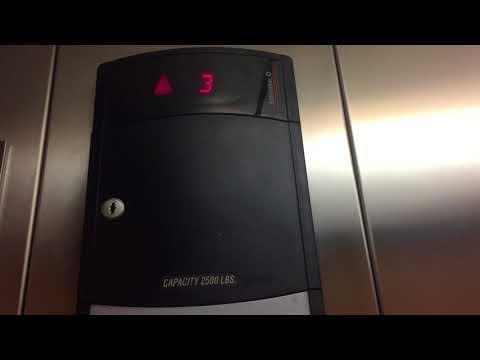 VERY NICE Schindler 330A Hydraulic Elevator @ Honda Dealership, Van Nuys, CA