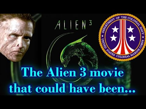 The Alien 3 movie that could've been....Early script by William Gibson Part 1