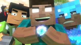 Minecraft Fight Remix - Original Minecraft Animation by MrFudgeMonkeyz