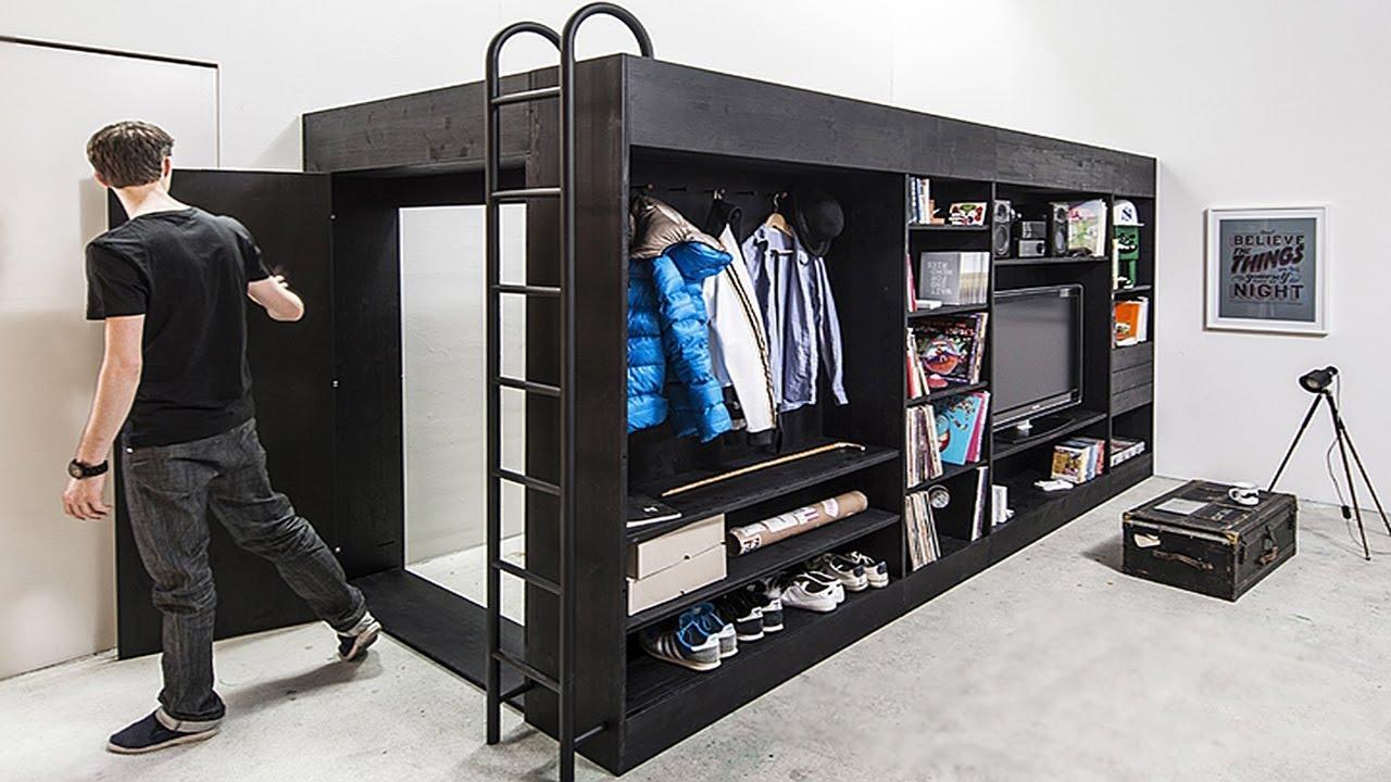 Най-яките мебели, които ще ви спестят страшно много място!