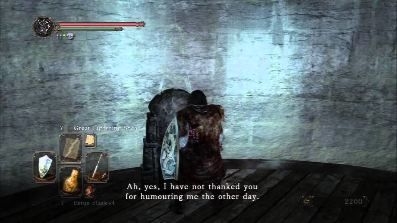 Dark Souls II NG+ - The Lost Bastille Lucatiel Memorial Site ...