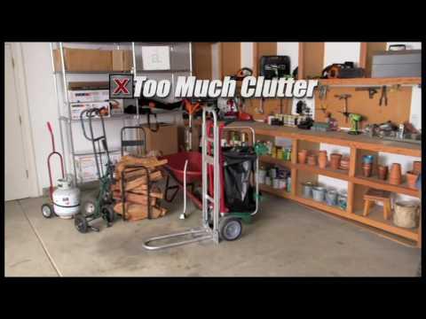 WORX WG050 AeroCart 8-in-1 All-purpose Wheelbarrow/Dolly Yard Cart - Versatility