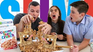 CINNAMON TOAST CRUNCH SLIME!! - Perfect Road Trip Snack