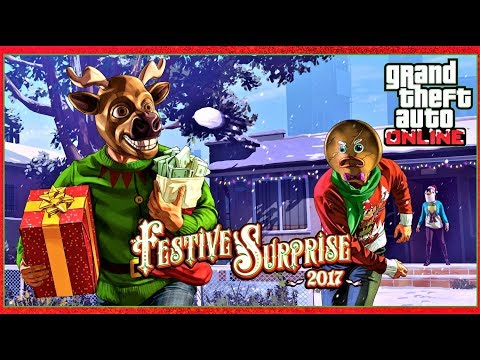 GTA Online Dec 19th Festive Surpise 2017 & The Sentinel Classic Newswire! - News & Updates