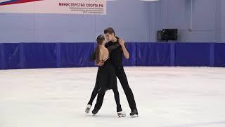 Екатерина Рыбакова и Иван Махноносов Контрольные прокаты 2021
