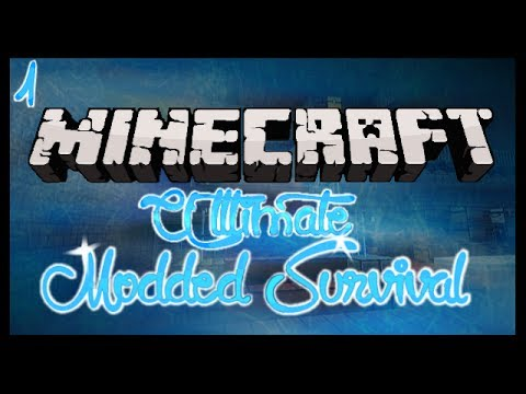 minecraft---ultimate-modded-survival-ep1:-getting-to-know-things