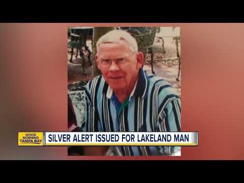 Silver Alert issued for 84YO Lakeland man