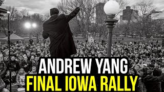 LIVE: Andrew Yang Rally in Des Moines, Iowa
