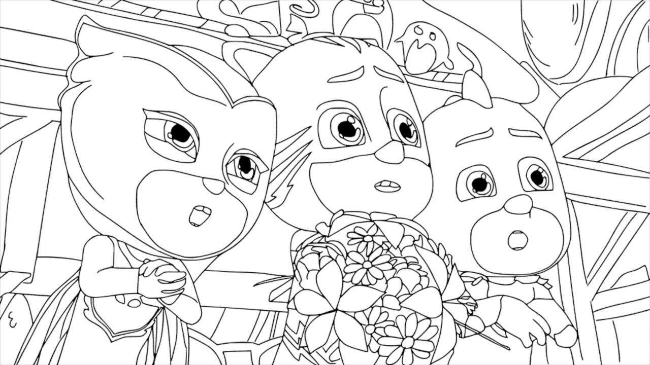 Dibujos De Pj Masks Imágenes De Héroes En Pijamas Para