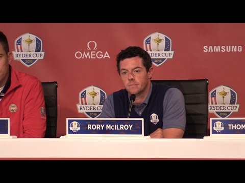 Ryder Cup Day One - Rory Mcilroy Press Conference