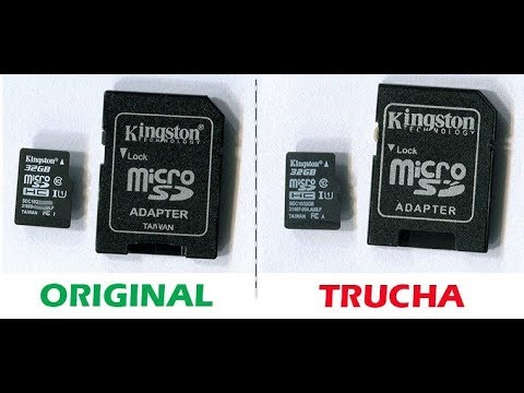 d6c85556c04 Reconocer / Identificar Memorias Kingston Originales / Piratas - YouTube