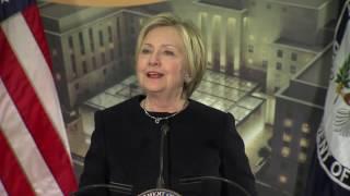 Remarks 67th Secretary of State Hillary Rodham Clinton