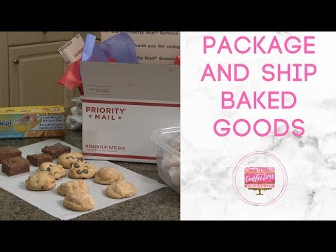 How to Package and Ship Baked Goods