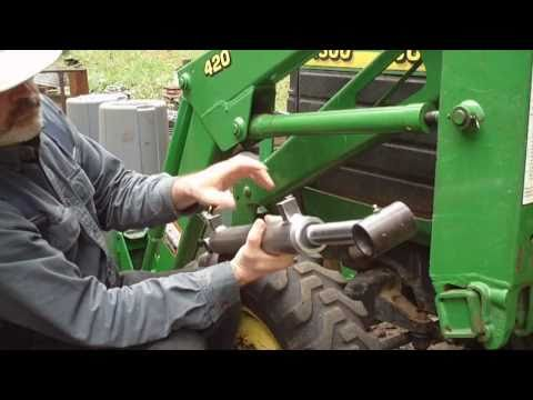 tractor pto shaft hook up